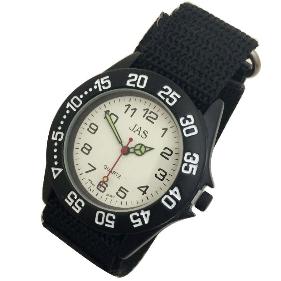 Mens Band Watch -Canvas Sport Analog