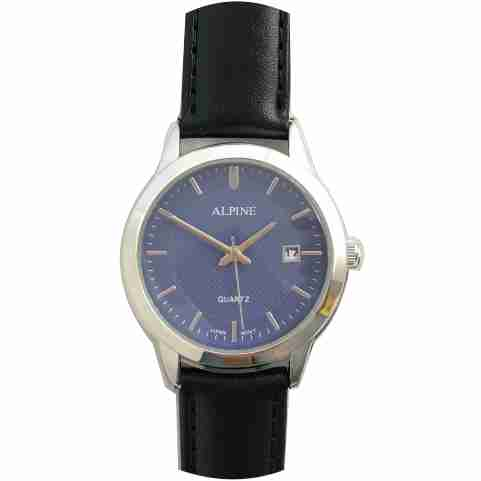 Mens Band Watch -Blue with Date
