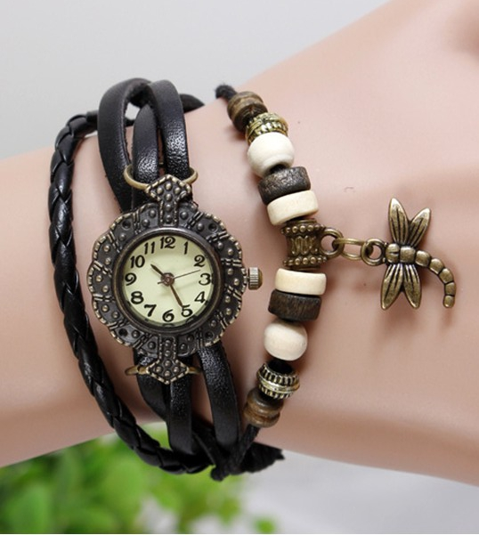 Regular Bracelet Multi-Strap Black
