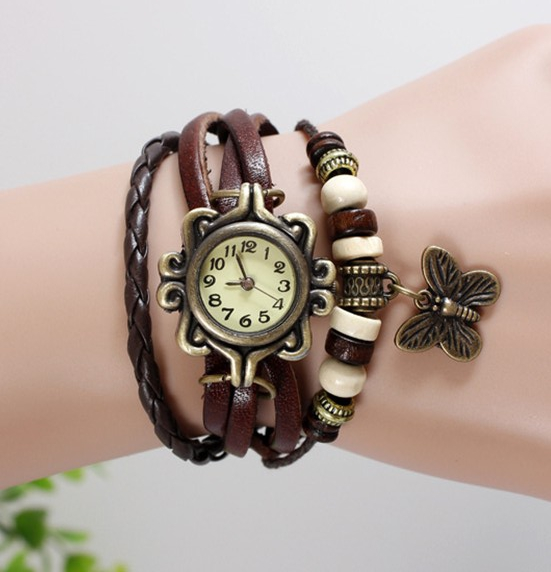 Regular Bracelet Multi-Strap Brown